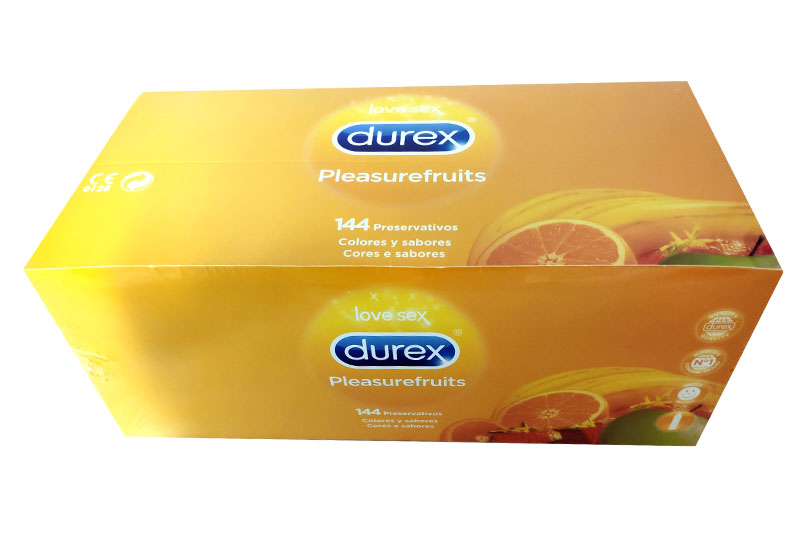 DUREX PLEASUREFRUITS 144 Preservativos