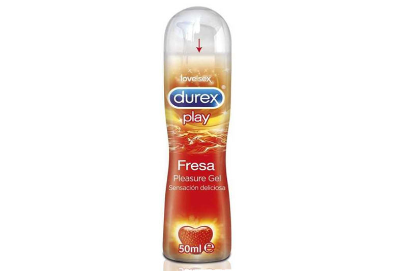 Lubrifiant DUREX PLAY STRAWBERRY 50ml
